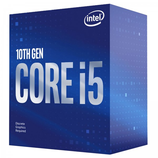 Processeur Intel Core i5 10400F (2.9 Ghz / 4.3 Ghz) - BX8070110400F